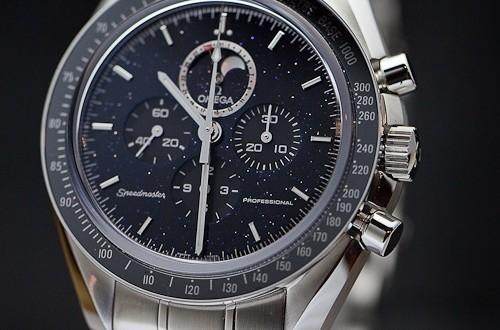 Best Watch Brands >> Omega Speedmaster Professional Moonphase Aventurine | 300Magazine