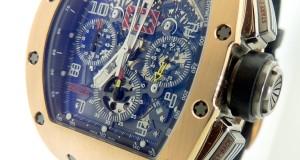 Richard Mille RM011 Felipe Massa 18K Rose Gold & Titanium Flyback Watch
