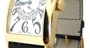 Franck Muller Long Island Double Retrograde Seconds 1100DSR Gold Watch