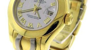 Rolex Oyster Perpetual DateJust Mirror Watch