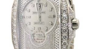 Breitling for Bentley Flying B Diamond White Gold Automatic Watch