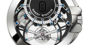 Harry Winston Ocean Tourbillon Jumping Hour Watch