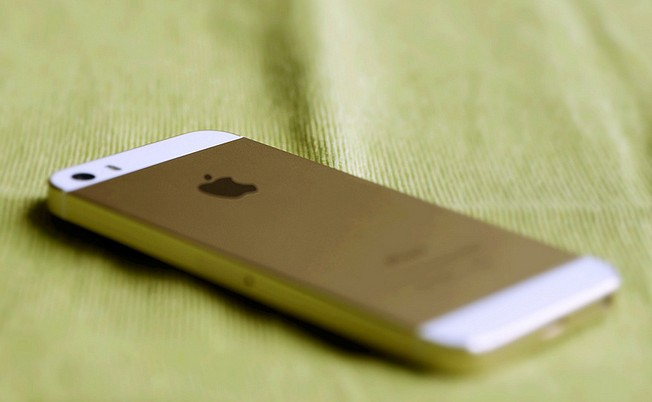 iphone with 18k gold case