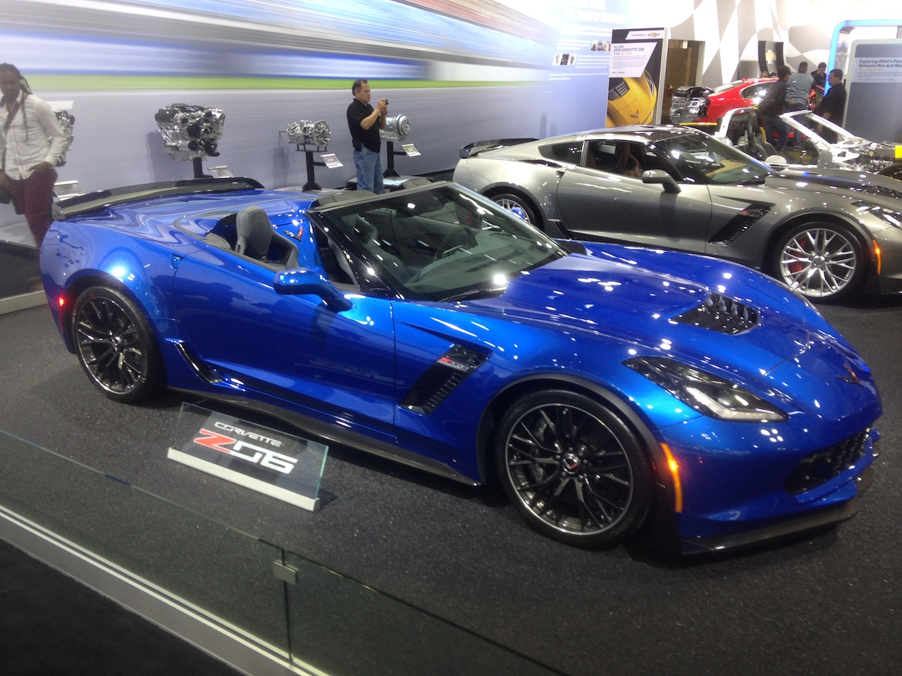 American Muscle Cars Of The New York Auto Show