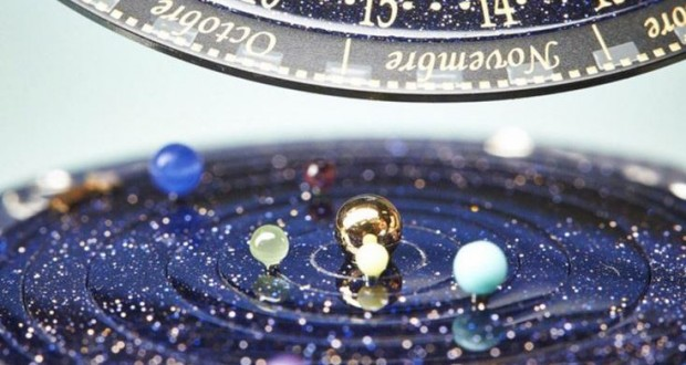 Van Cleef & Arpels' Midnight Planetarium – Mystery of Space Explored in a Luxury Watch