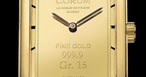 Corum Heritage Ingot Model – New Luxury Watch With Pure Gold Ingot Dial
