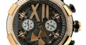 Romain Jerome Titanic DNA Steampunk Diamond Gold Watch- For the Man with Discerning Tastes
