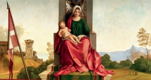 Famous Paintings of the Blessed Virgin Mary