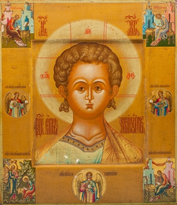 The Most Wonderful Art exhibition of antique Russian icons