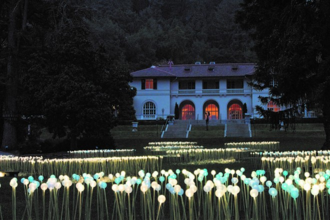 Open-air Art Gallery Installation of Bruce Munro at Montalvo