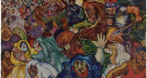 Nightmare Art Inspired by War: First US Exhibition of Fritz Ascher Works