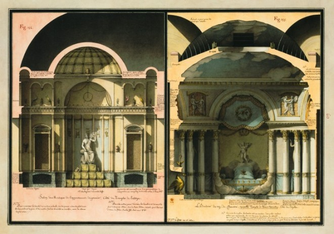 Fantasy Architecture: First Exhibition Dedicated to Jean-Jacques Lequeu