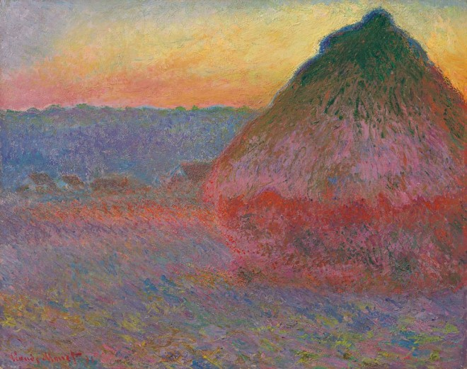 """Monet's """"Haystacks"""" Painting to Be Sold at Sotheby's"""