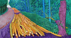 Hockney and Van Gogh Exhibition in Amsterdam