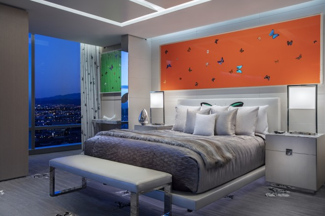 Damien Hirst's Artworks in Suite Decoration