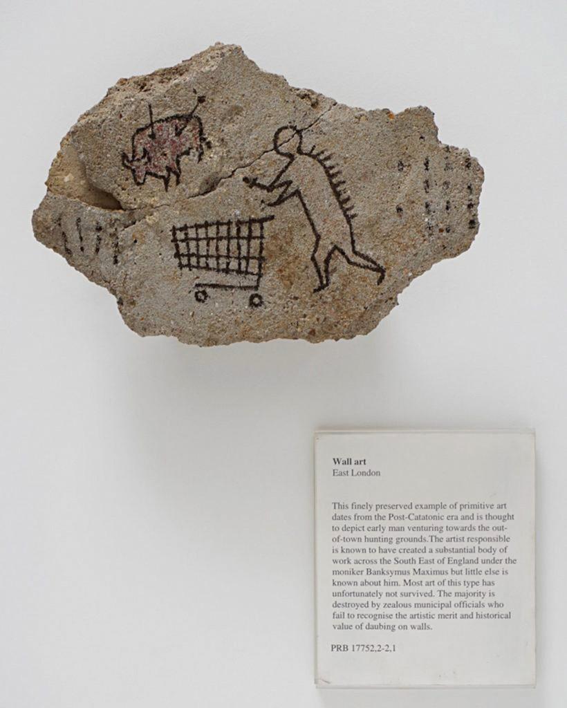 The British Museum Gets Banksy's Artwork