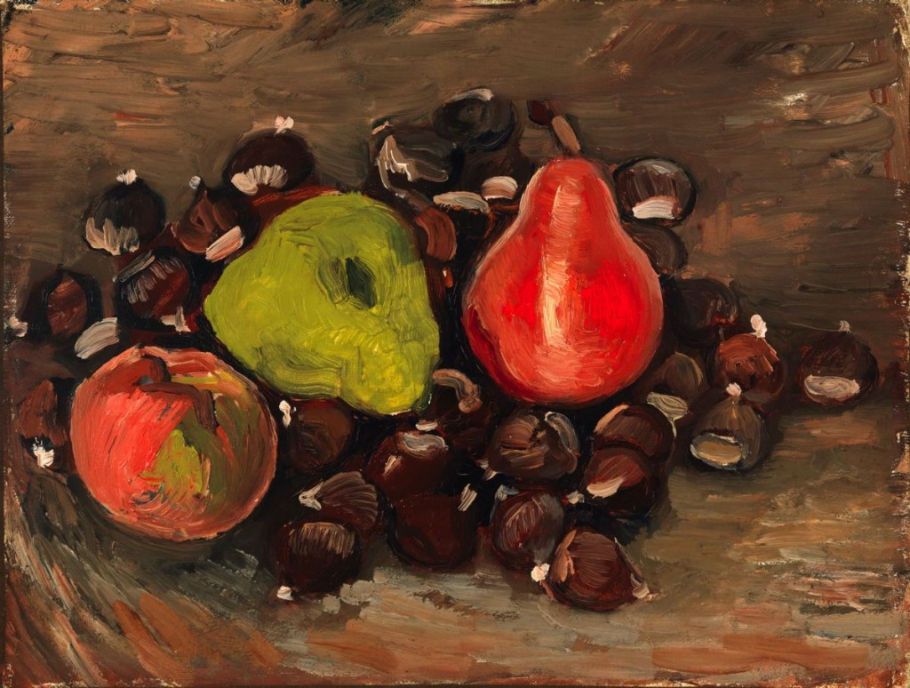 "Van Gogh Indeed Created ""Still Life with Fruit and Chestnuts"""