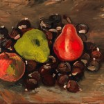 """Van Gogh Indeed Created """"Still Life with Fruit and Chestnuts"""""""
