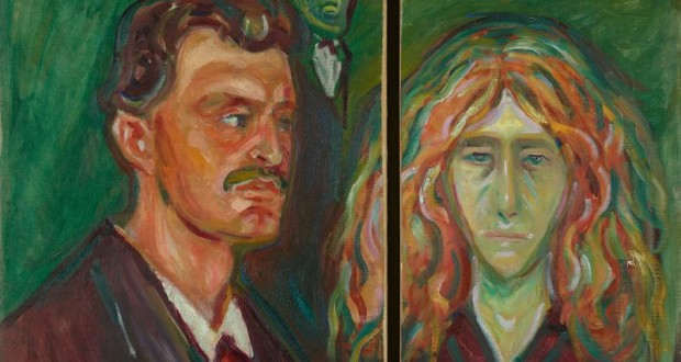 Edvard Munch's Exhibitions in London and Moscow