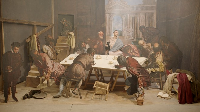 Tintoretto's Art Exhibition by The Pushkin Museum