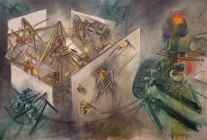 Artworks by Roberto Matta at the Hermitage Museum