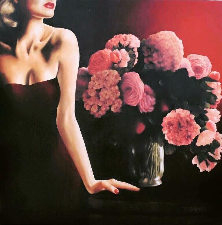 Striking Oil Paintings by Trisha Lambi