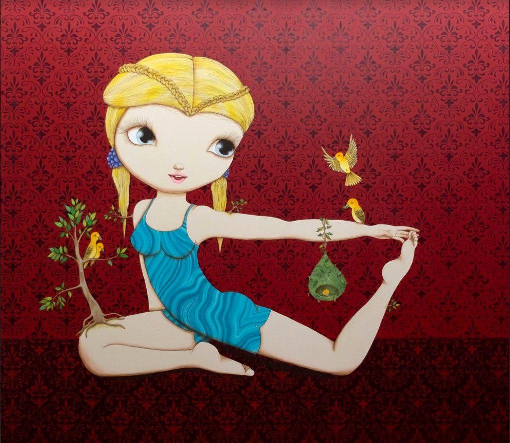 """Gratitude"" – Nina Pandolfo's Art Exhibition at JD Malat Gallery"